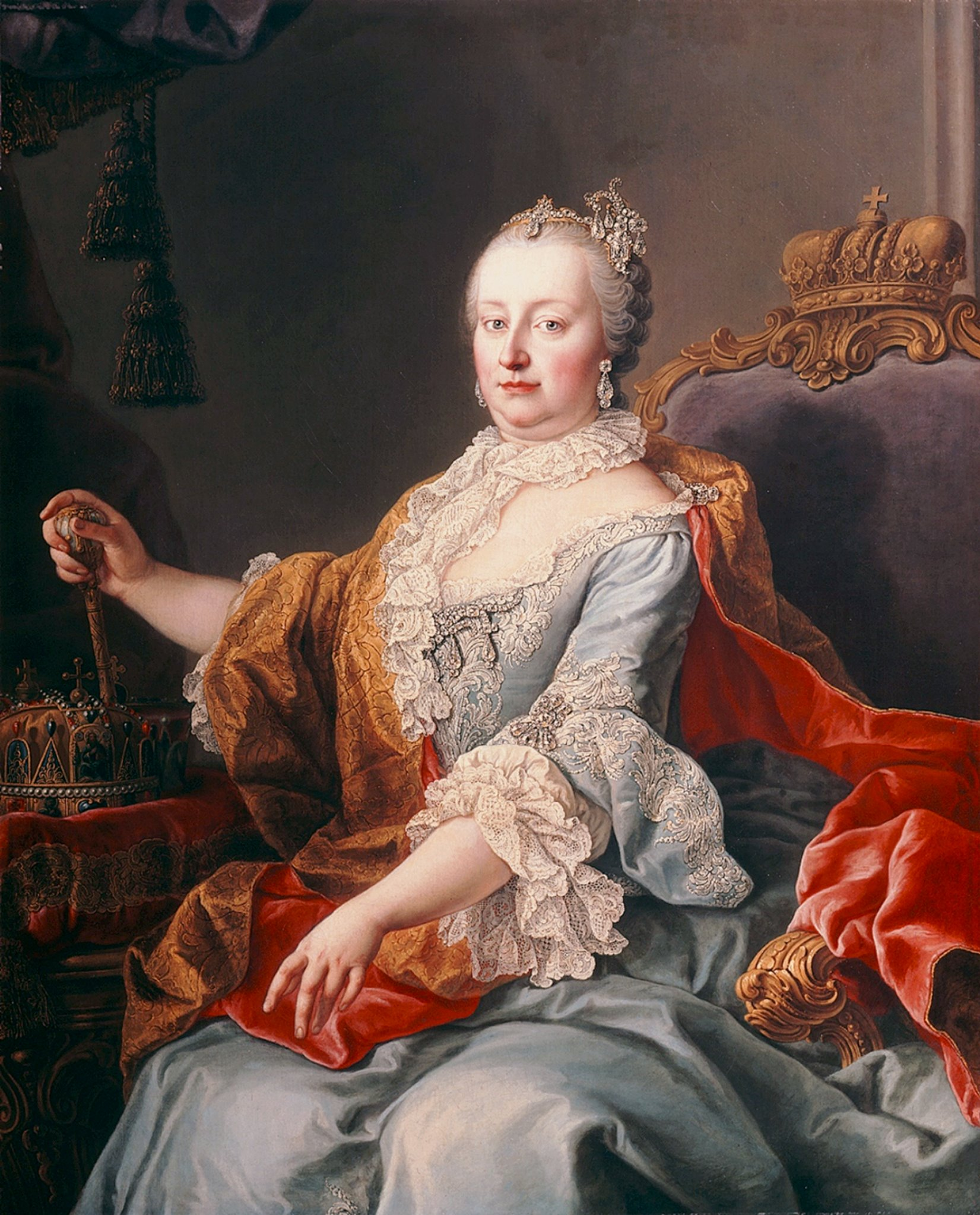 "Empress Maria Theresa of Austria, Marie Antoinette's mother. ""I pity my daughter."""
