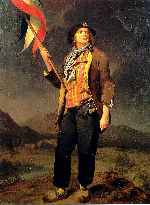 Hardi, from new revolutionary Paris Council. Saved lives of Tourzel women, at great risk to his own.